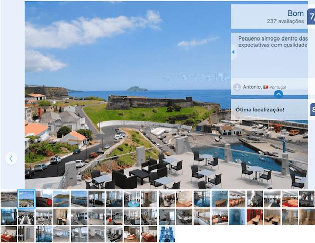 Angra Marina Hotel nos Açores