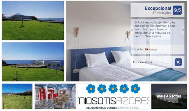 Apart-hotel Lofts Azul Pastel nos Açores
