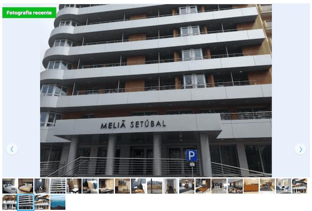 Hotel Meliá em Setúbal