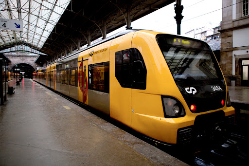 Comboio em Porto