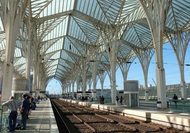 Viagem de trem de Lisboa a Coimbra