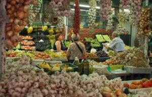 Verduras no Mercado do Bolhão