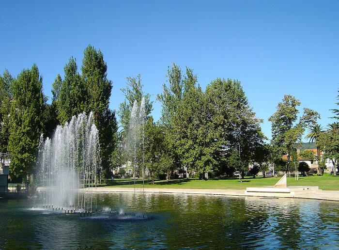 Jardins em Setúbal - Parque do Bonfim