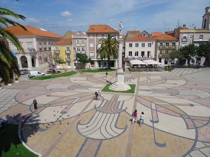 Praça Bocage em Setúbal
