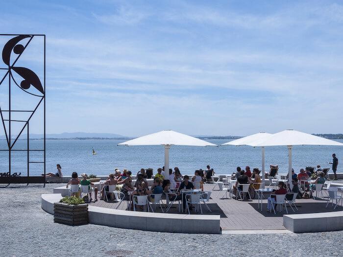 Quiosque da Ribeira das Naus em Lisboa