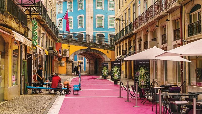 Pink Street em Lisboa