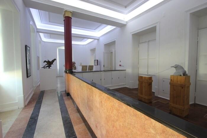 Interior da Galeria Municipal do Banco de Portugal em Setúbal