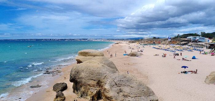 Praia de Melides em Setúbal - serviços