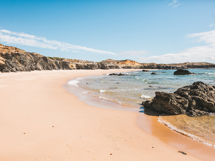 Praia de Melides em Setúbal