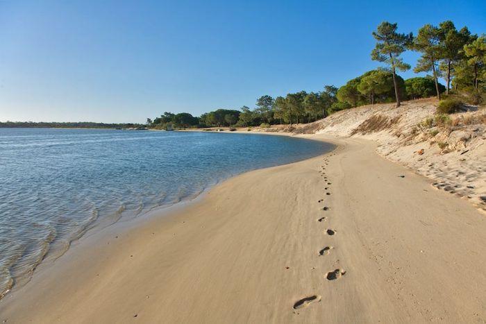 Praia de Tróia em Setúbal