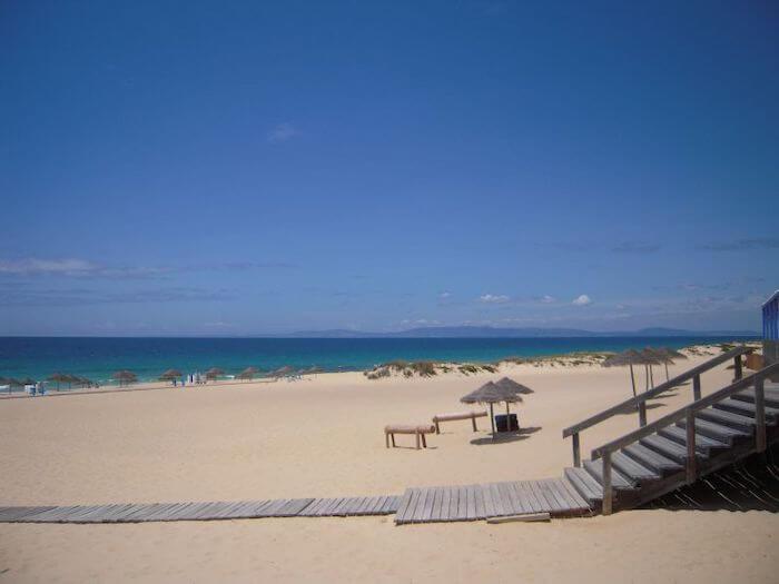 Praia do Pego em Setúbal