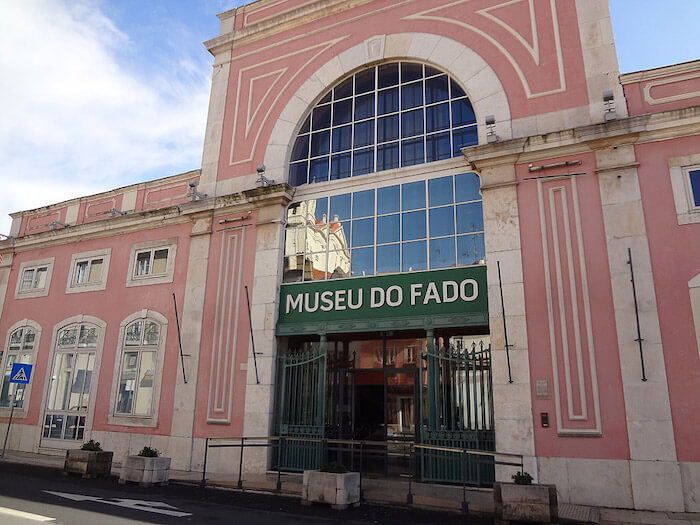 Museu do Fado em Lisboa - fachada