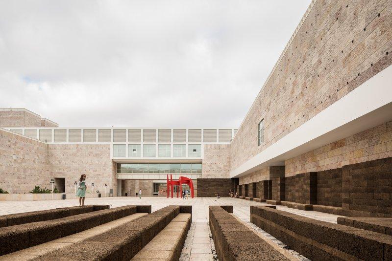 Instalações no Centro Cultural de Belém em Lisboa