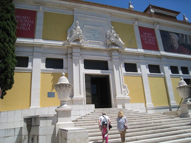 Entrada do Museu Nacional de Arte Antiga