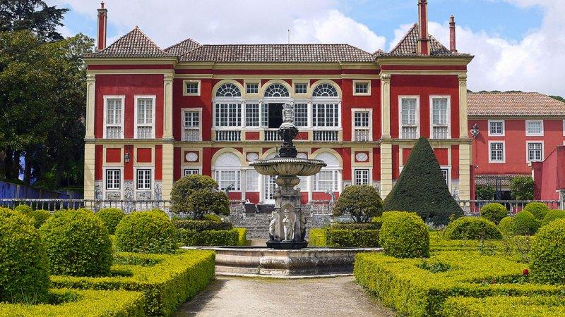 Palácio dos Marqueses da Fronteira em Lisboa