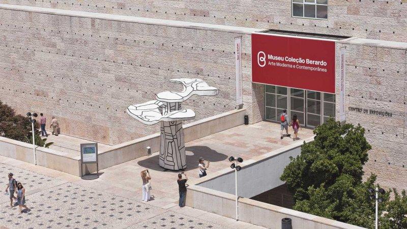 Museu Coleção Berardo em Lisboa visto de longe