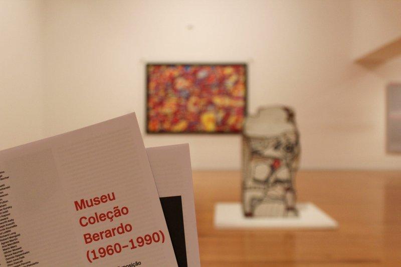 Panfleto do Museu Coleção Berardo em Lisboa