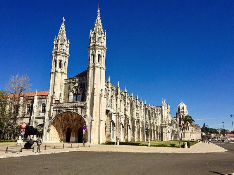 Mosteiro em que está localizado o Museu da Marinha em Lisboa