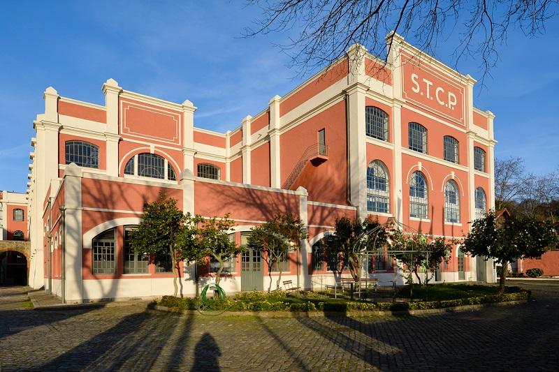 Edifício do Museu do Carro Elétrico no Porto