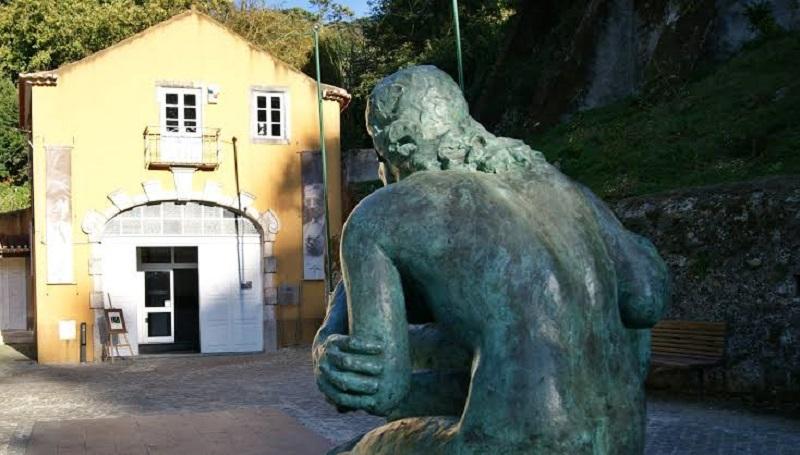 Entrada do Museu Anjos Teixeira em Sintra
