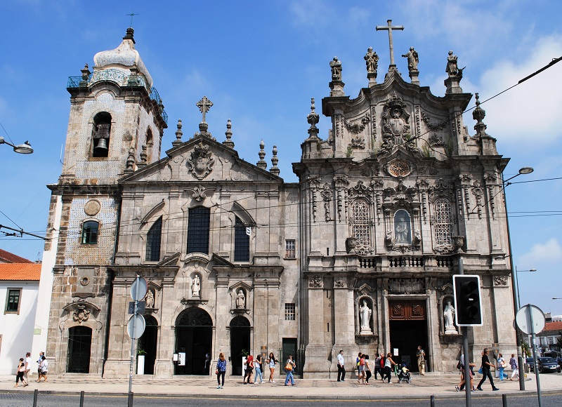 Igreja das Carmelitas e Igreja do Carmo no Porto