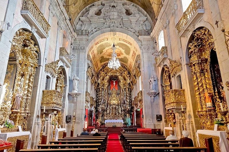 Interior da Igreja do Carmo no Porto