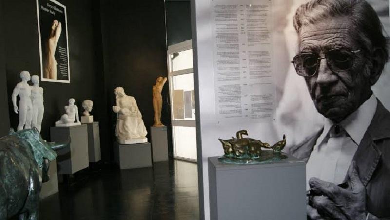 Interior do Museu Anjos Teixeira em Sintra