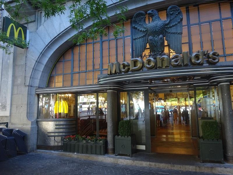 Mc Donald's Imperialna Avenida dos Aliados no Porto