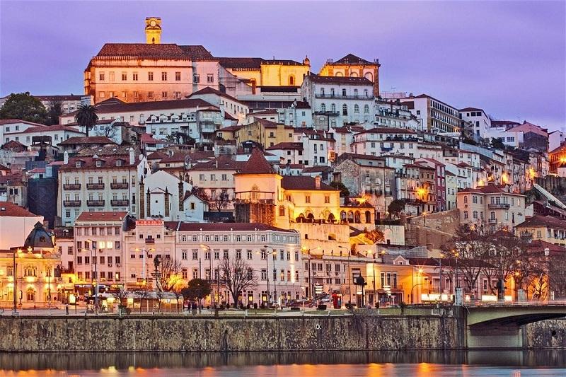 Fim de dia em Coimbra