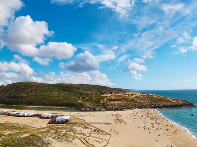 Praia da Foz do Lizandro em Sintra