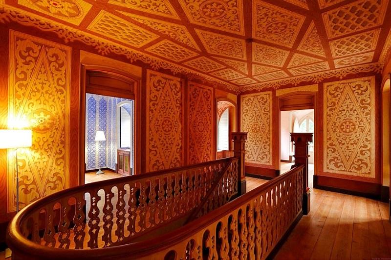Interior do Chalet e Jardim da Condessa D'Edla em Sintra