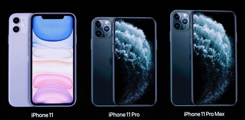 iPhone 11, iPhone 11 Pro e iPhone 11 Pro Max