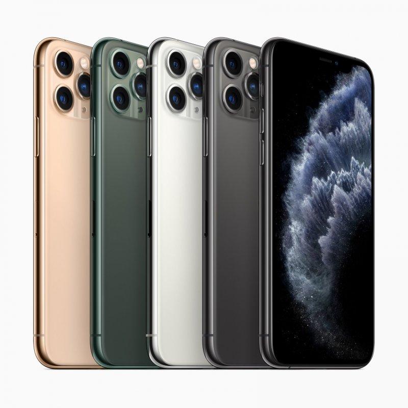 Cores disponíveis do iPhone 11 Pro Max