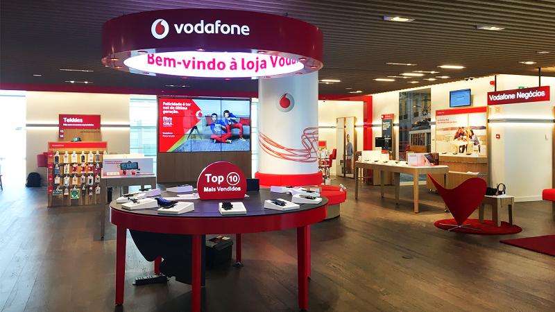Loja Vodafone em Lisboa
