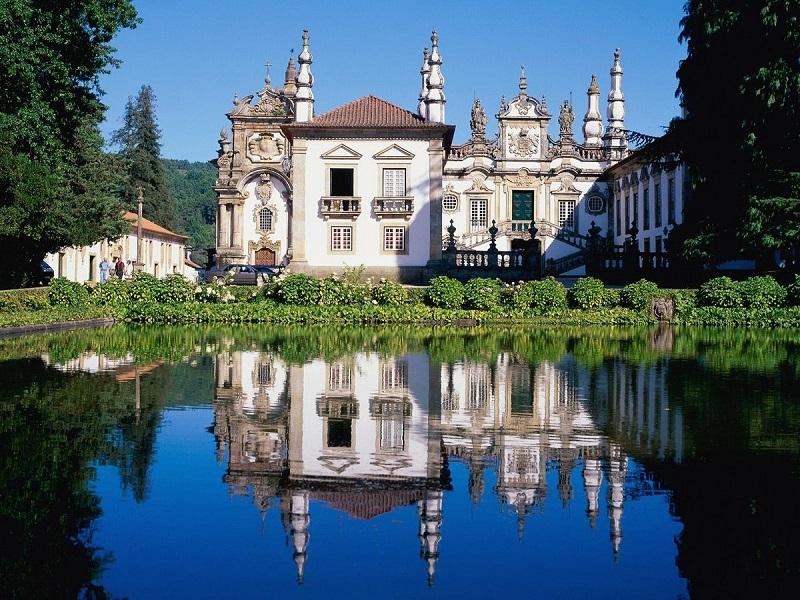 Palácio de Mateus na cidade de Vila Real