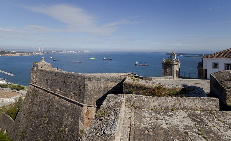 Castelo de San Felipe em Setúbal
