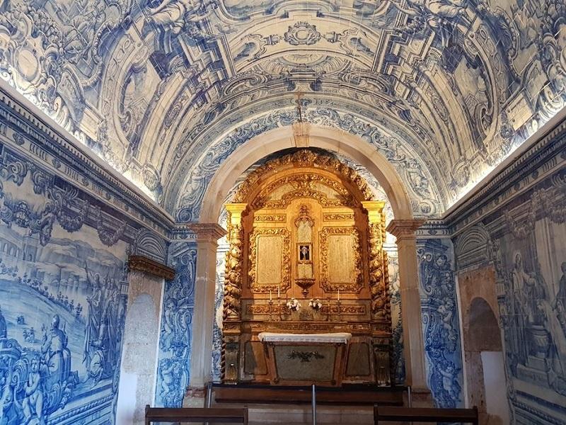 Interior da capela de São Filipe