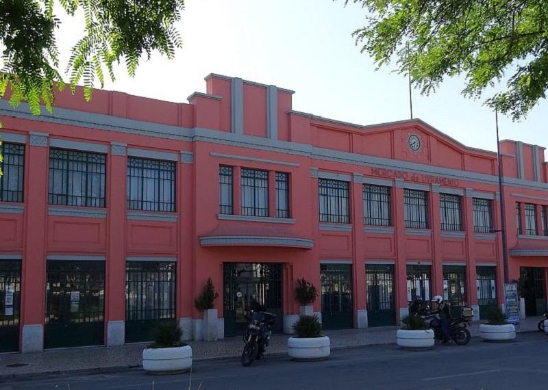 Edifício do Mercado do Livramento em Setúbal