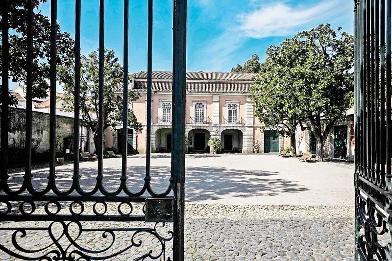 Entrada do Museu Nacional do Traje em Lisboa