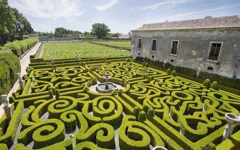 Jardim da Bacalhôa Vinhos de Portugal em Setúbal