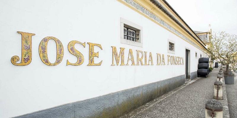Letreiro na Casa-Museu José Maria da Fonseca em Setúbal