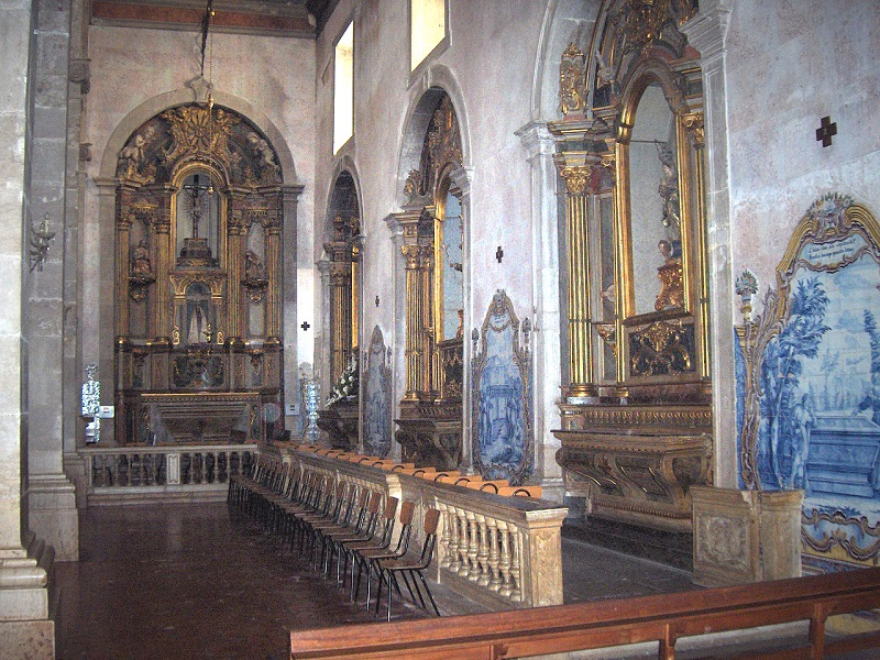 Interior da Igreja de São Julião de Setúbal