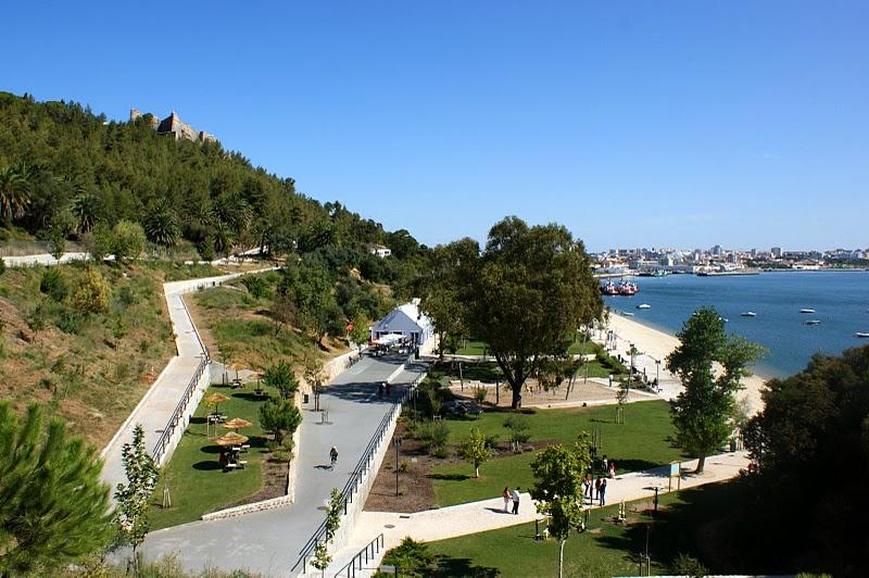 Parque Urbano de Albarquel em Setúbal