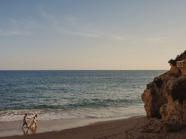 Praias românticas no Algarve