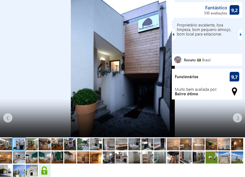 Fachada do GuimaraesLiving - Hostel & Adventure