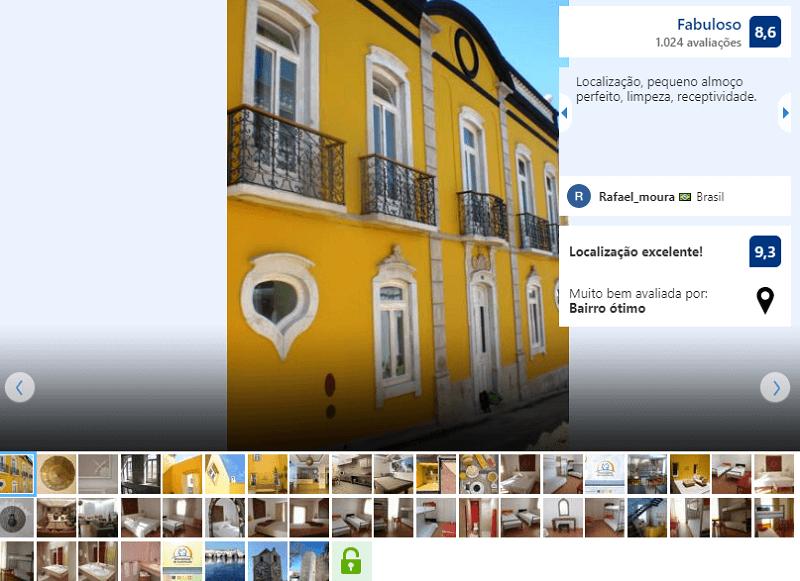 Fachada do HI Tavira - Pousada de Juventude em Algarve