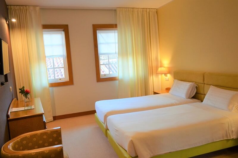 Quarto do Hotel Toural em Guimarães