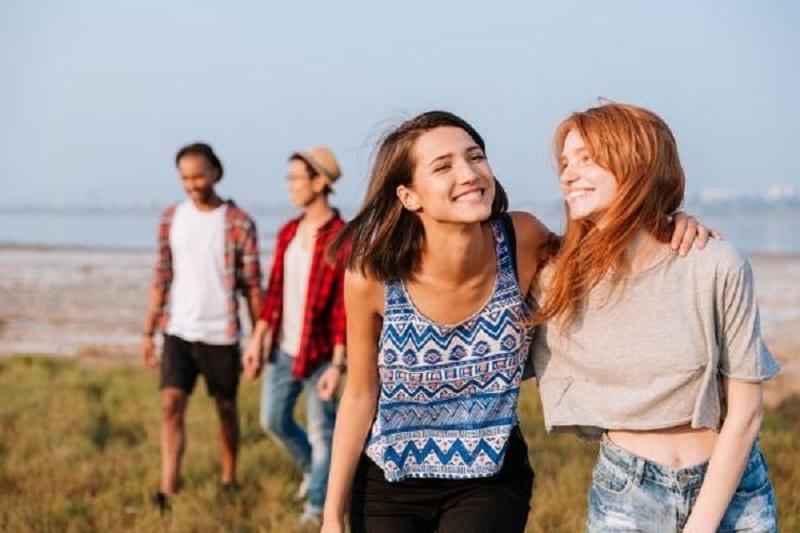 Jovens no Algarve