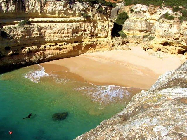 Praias mais escondidas no Algarve