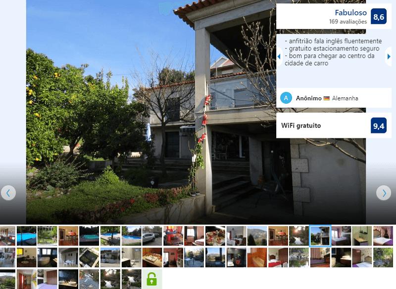 Fachada do Sweet Home Braga Hostel & Guest House